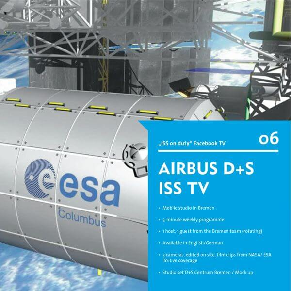ISS on duty GB